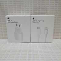 Charger Lightning Apple USB C 18W Iphone X XR XS Max 11 Pro Original