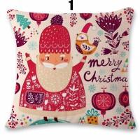 Sarung bantal natal IMPORT Santa