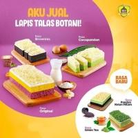 Lapis Talas Botani Sangkuriang Bolu Brownies Keju Pandan Ketan Green