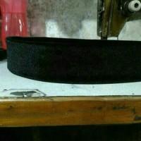 peci hitam songkok pendek tinggi 6 cm