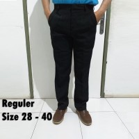 Celana Panjang Bahan Kerja Kantor Pria Formal Slimfit Reguler Big Size