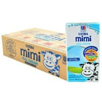 Susu UHT Ultra mimi kids 125 ml | rasa full cream | Isi 40 pcs
