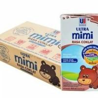 Susu UHT ultra mimi kids 125 ml| rasa coklat | Isi 40 pcs
