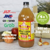 BRAGG Apple Cider Vinegar Cuka Apel 946 ml