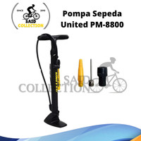 Pompa Sepeda PM 8800 United Floor Pump Original