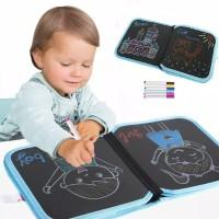 Mainan edukasi Anak Buku Tulis Gambar Travel Portable