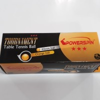 Bola Pingpong / Tenis Meja Power SPin Bintang 3 Tournament