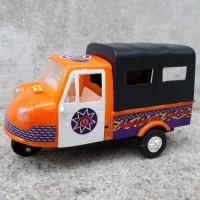 Mainan Mobil Bemo Klasik - Miniatur Becak Motor Antik Edukatif Anak