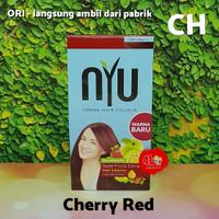 CH Pewarna Cat Rambut NYU Creme Hair Colour warna Cherry Red