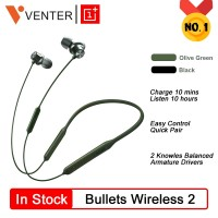 TERCANGGIH Original OnePlus Bullets 2 Wireless Earphones AptX