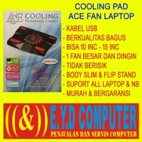 COOLING PAD USB 1 FAN COOLER NETBOOK NOTBOK LAPTOP NOTBOOK SATU K