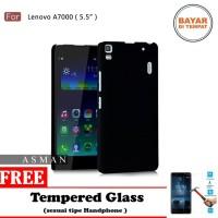 Softcase Ultraslim BlackMatte Casing Hp LENOVO A7000 - Free TG