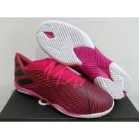 Sepatu Futsal Adidas Nemeziz Messi 19.3 MD Shock Pink