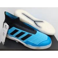 Sepatu Futsal Adidas Predator Tango 19+ IN Bright Cyan