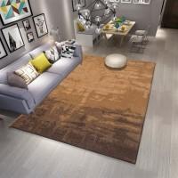 Karpet Handtuft Premium Wool Mewah Modern D017 Brown 200x300 cm