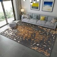 Karpet Handtuft Premium Wool Mewah Modern D005 DarkGray 160x230 cm