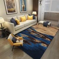 Karpet Handtuft Premium Wool Mewah Modern D007 BlueBeige 160x230 cm