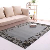 Karpet Handtuft Premium Wool Mewah Modern D014 Gray 160x230 cm