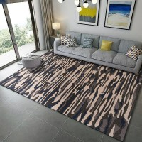 Karpet Handtuft Premium Wool Mewah Modern D003 BlueBrown 160x230 cm