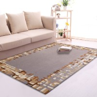 Karpet Handtuft Premium Wool Mewah Modern D014 Beige 160x230 cm