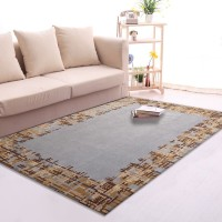 Karpet Handtuft Premium Wool Mewah Modern D014 Gray 200x300 cm