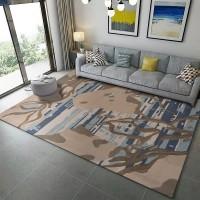 Karpet Handtuft Premium Wool Mewah Modern D024 BeigeGray 200x300 cm