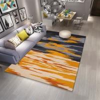 Karpet Handtuft Premium Wool Mewah Modern D007 GreyYello 160x230 cm