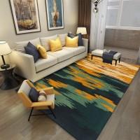 Karpet Handtuft Premium Wool Mewah Modern D007 Green 160x230 cm