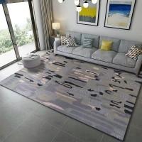 Karpet Handtuft Premium Wool Mewah Modern D006 Gray 160x230 cm