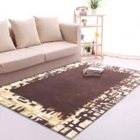 Karpet Handtuft Premium Wool Mewah Modern D014 Brown 160x230 cm