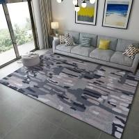 Karpet Handtuft Premium Wool Mewah Modern D006 DarkGray 160x230 cm