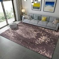 Karpet Handtuft Premium Wool Mewah Modern D005 Brown 200x300 cm