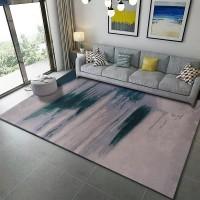 Karpet Handtuft Premium Wool Mewah Modern D001 GrayGreen 200x300 cm