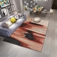 Karpet Handtuft Premium Wool Mewah Modern D001 PeachBrow 160x230 cm