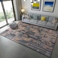 Karpet Handtuft Premium Wool Mewah Modern D006 BlueGray 200x300 cm