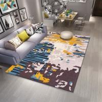 Karpet Handtuft Premium Wool Mewah Modern D012 BlueBeige 160x230 cm