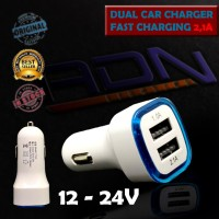 Casan Mobil 2 Port Usb colokan lighter android apple Car Charger YY-22