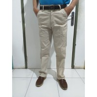 Celana chino pria/ high quality cotton washed