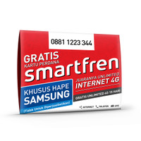 kartu perdana internet smartfren kuota data unlimited utk hp samsung