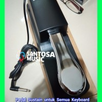 Pedal Sustain keyboard Yamaha Korg Casio Roland original di Bandung