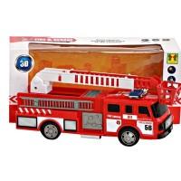 MAINAN MOBIL PEMADAM FIRE & RESCUE TRUCK 3D LIGHT SD023D