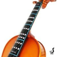 Sticker Fingerboard Violin Finger Board Stiker Biola Jari Note SV-4/4