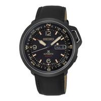 Jam Tangan Pria Seiko Prospex Automatic Black Leather SRPD35K1