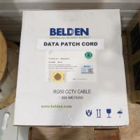 Belden RG 59 CCTV CABLE 305meter / kabel cctv RG59 belden plus power