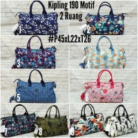 Tas Pakaian Travel Bag Kipling Motif bisa gosend