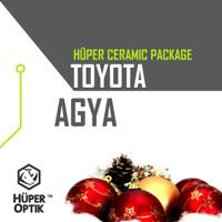 Kaca Film Huper Optik Ceramic Series Toyota Agya Full Promo