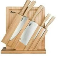 oxone wooden knife set 7pcs ox-95