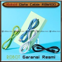 Kabel Data Robot RBM100 100cm Charger Fast Charging 2A Cable Micro USB