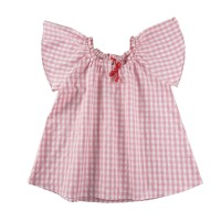 KIDS ICON - Blouse Anak Perempuan CURLY with Ribbon - LYB00700200 - 12-13 tahun
