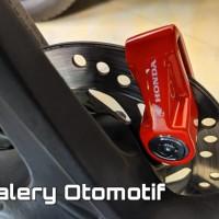 Kunci Gembok Piringan Cakram Motor Disk Lock Original Aksesoris Honda